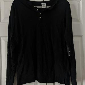 Black Henley top